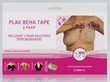 Afbeelding vanBye Bra Plak beha Tape Cup F h + Siliconen Tepelbedekkers (3 Paar)