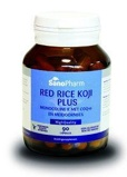 Afbeelding vanSanopharm Red rice koji plus high quality (60 capsules)