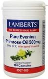 Afbeelding vanLamberts Teunisbloemolie 500 Mg (pure Evening Primrose Oil), 180 Veg. capsules