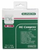 Afbeelding vanKlinion Hg gaaskompressen 5x5cm 10 stuks