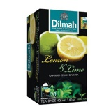 Afbeelding vanDilmah Lemon & lime thee (20 zakjes)