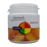 Afbeelding vanPlantina Essentials Vitamine D Tabletten 120TB