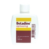 Afbeelding vanBetadine Jodium Oplossing 100 Mg/ml (120ml)