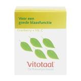 Afbeelding vanVitotaal Cranberry + Vitamine C Capsules 45st