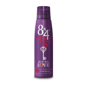 Afbeelding van 8X4 Deodorant spray key to love