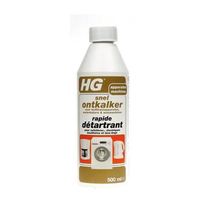 Afbeelding van HG Snelontkalker voor Koffiezetapparaten, Waterkokers & Wasmaschines 500ML
