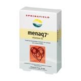 Afbeelding vanSpringfield MenaQ7 vitamine K2 45 mcg (60 tabletten)