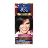 Afbeelding vanSchwarzkopf Poly Palette Color Creme haarkleuring 45 Zwart