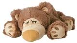 Afbeelding vanWarmies Slapende beer magnetronknuffel lichtbruin 1 stuk