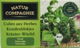 Afbeelding vanNatur Compagnie Peterselie kruidenblokjes (80 gram)