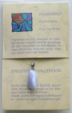 Afbeelding vanSteengoed Hanger sterrenbeeldsteen waterman 1kaart