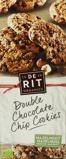 Afbeelding vanDe Rit Double chococookies hazelnoot (175 gram)