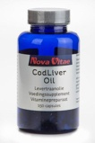 Afbeelding vanNova Vitae Cod Liver Oil Levertraanolie Capsules 150st