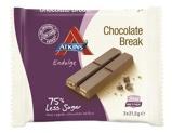 Afbeelding vanAtkins Endulge Chocolate Break Reep 21 gram, 3x21 gram