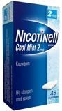 Afbeelding vanNicotinell Nicotine kauwgom mint 2mg 48 stuks
