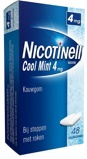 Afbeelding vanNicotinell Nicotine kauwgom cool mint 4mg 48 stuks