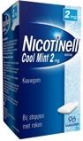 Afbeelding vanNicotinell Nicotine kauwgom mint 2mg 96 stuks
