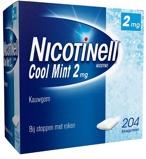 Afbeelding vanNicotinell Nicotine kauwgom cool mint 2mg 204 stuks