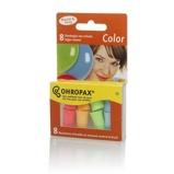 Afbeelding vanOhropax Oordopjes Geluiddempend Color, 8 stuks