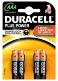 Afbeelding vanBatterij Duracell Plus Power 4xAAA alkaline Staaf En Blokbatterijen