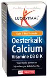 Afbeelding vanLucovitaal Oesterkalk Calcium Vitamine D3 & K 100 tabletten