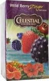 Afbeelding vanCelestial Seasonings Wild berry zinger herb tea 20 stuks