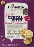 Afbeelding vanConsenza Cereal Bites met Kokos & Witte Chocolade 125GR