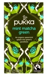 Afbeelding vanPukka Org. Teas Mint matcha green (20 zakjes)