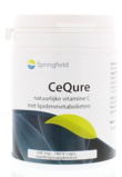 Afbeelding vanSpringfield Cequre 500 Mg Vitamine C, 180 Veg. capsules