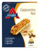 Afbeelding vanAtkins Day Break capuccino Nut Reep 30 gram, 5x30 gram