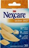 Afbeelding vanNexcare Active 360 Assorti Pleisters, 30 stuks