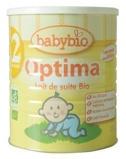 Afbeelding vanBabybio Optima 2 Opvolgmelk 6 12 Maanden, 900 gram