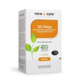 Afbeelding vanNew Care Suppl. Vit D3 75Mcg (100Cap) ONS6075