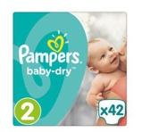 Afbeelding vanPampers Baby dry mini s2 midpack 4 x 42st
