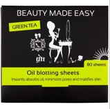 Afbeelding vanBeauty Made Easy Oil Blotting Sheets Green Tea 80ST