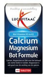 Afbeelding vanLucovitaal Calcium Magnesium Bot Formule Tabletten 60TB