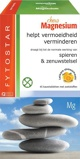 Afbeelding vanFytostar Magnesium Chew Kauwtabletten, 45 Kauw tabletten
