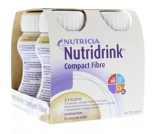 Afbeelding vanNutridrink Compact Fibre Mokka 125 ml, 4 stuks