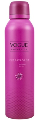 Afbeelding van 6x Vogue Extravagant Shower Foam 200 ml