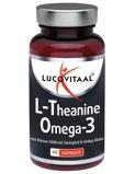 Afbeelding vanLucovitaal L theanine omega 3 90 capsules