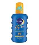 Afbeelding vanNivea Sun kids hydraterende zonnebrandspray spf50+ 200ml