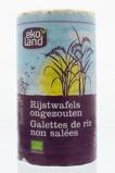 Afbeelding vanEkoland Rijstwafels zonder zout (100 gram)