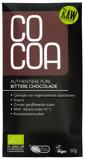 Afbeelding vanCocoa Authentieke Pure Bittere Chocoladereep RAW 50GR