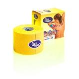 Afbeelding vanDisporta Globotec Cure tape 5 cm x 5 meter geel 1st