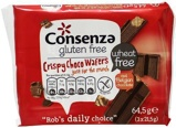 Afbeelding vanConsenza Crispy choco wafers (64.5 gram)