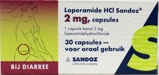 Afbeelding vanSandoz Loperamide 2 mg (30 capsules)
