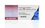 Afbeelding vanSandoz Cinnarizine 25 mg 30 stuks