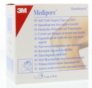 Afbeelding van 3M Medipore met schutblad 5 cm x 10 m 1 stuk