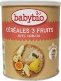 Afbeelding vanBabybio 3 Vruchtengranen 6 Maanden, 220 gram