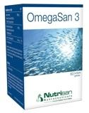 Afbeelding vanNutrisan Omegasan 3 capsules 60sft